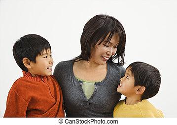 アジア 家族