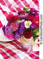 アスター, 花, 花束