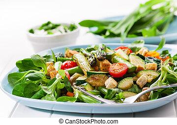 アスパラガス, 緑 サラダ