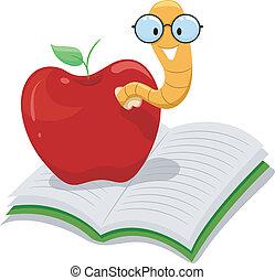 アップル, 本の虫