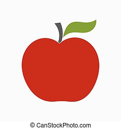 アップル, 赤, アイコン