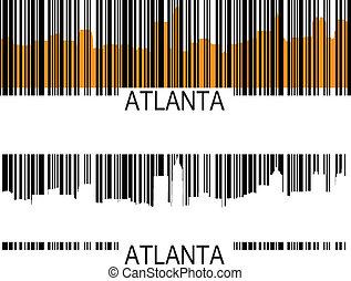 アトランタ, barcode