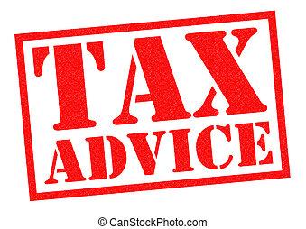 アドバイス, 税