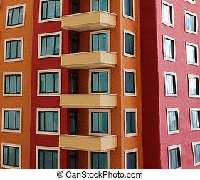アパート地帯
