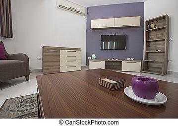 アパート, インテリア・デザイン, 贅沢, 反響室