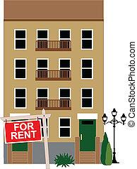 アパート, 賃貸料