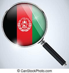 アフガニスタン, usa政府, nsa, スパイ, プログラム, 国