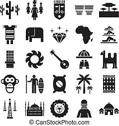 アフリカ, アイコン