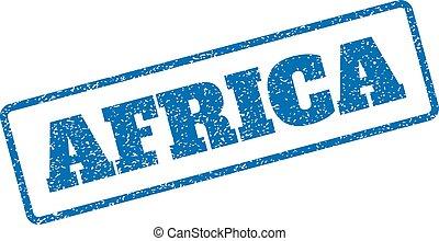 アフリカ, ゴム製 スタンプ
