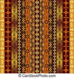 アフリカ, モチーフ, 背景, 民族