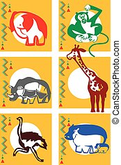 アフリカ, 動物
