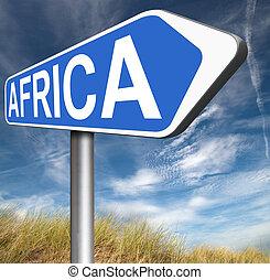 アフリカ, 印
