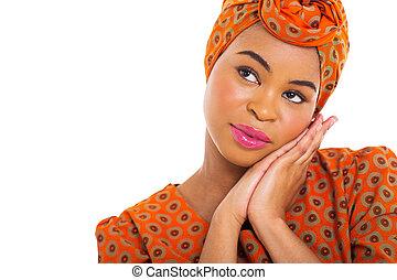 アフリカ 女, 調べること