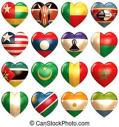 アフリカ, 心