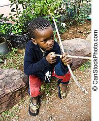アフリカ, 窮乏, 子供