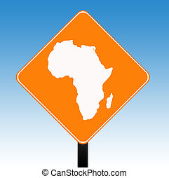 アフリカ, 道 印