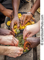 アフリカ, 食物