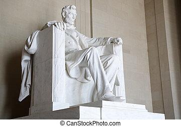 アブラハムリンカーンの記念物, ワシントン