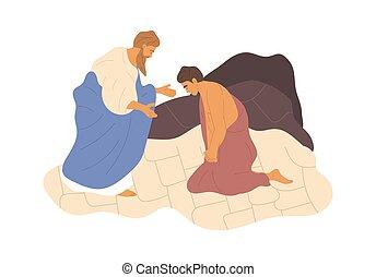 アブラハム, 犠牲にすること, 息子, 彼の