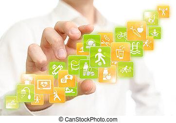 アプリケーション, 健康