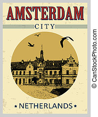 アムステルダム, ポスター