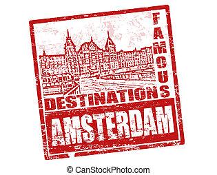 アムステルダム, 切手