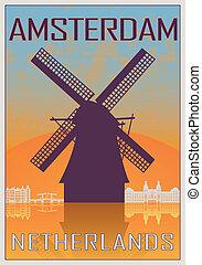 アムステルダム, 型, ポスター