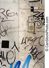アムステルダム, 壁, 落書き