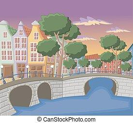 アムステルダム, 運河