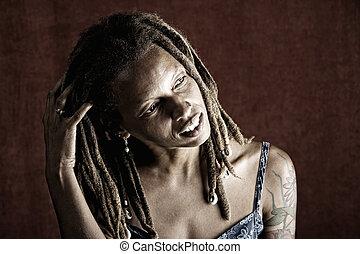 アメリカの女性, アフリカ