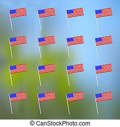 アメリカの旗, 背景