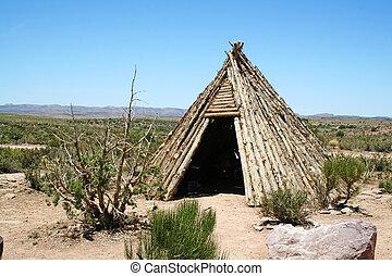 アメリカインディアン, teepee