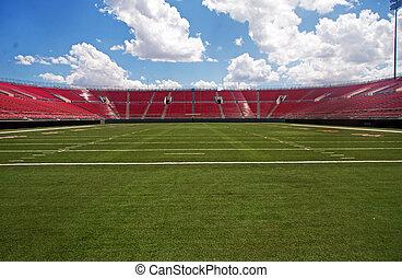 アメリカン・フットボールの 競技場