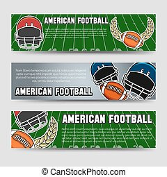 アメリカン・フットボール, 旗