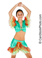 アメリカ人, ラテン語, 衣類, 女の子, ダンス
