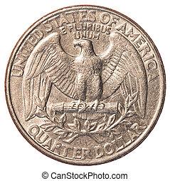 アメリカ人, 四分の一硬貨, 1(人・つ)