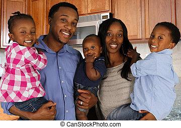 アメリカ人, 家族, アフリカ