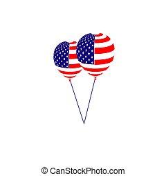 アメリカ人, 日, 独立