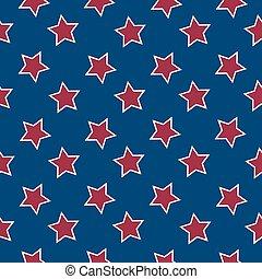 アメリカ人, 星, 旗, 背景