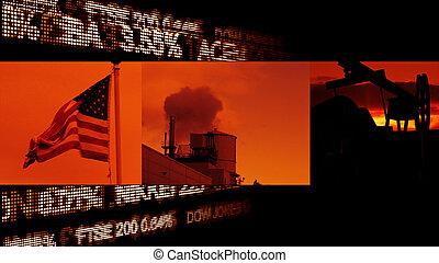 アメリカ人, 産業