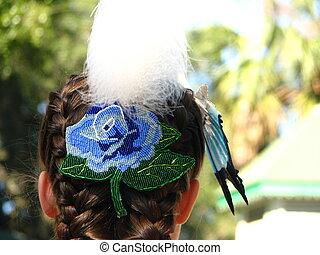 アメリカ人, 頭飾り, ネイティブ