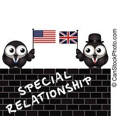 アメリカ, イギリス, 特別, 関係
