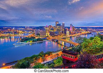 アメリカ, ピッツバーグ, ペンシルバニア