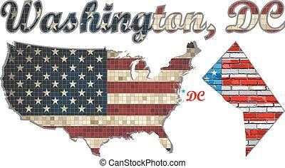 アメリカ, ワシントン州, d.c. 。