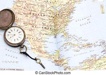 アメリカ, 中央である