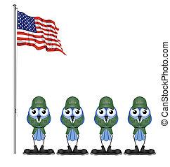 アメリカ, 兵士