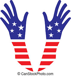 アメリカ, 手