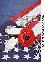 アメリカ, 記念, concept., 日