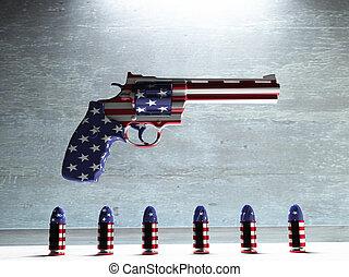 アメリカ, 銃