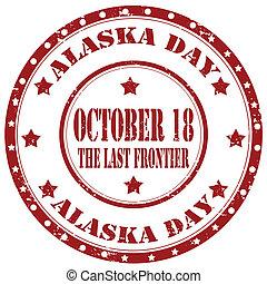アラスカ, day-stamp